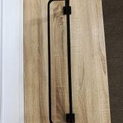 Solid-Brass-MATTE-BLACK-Square-Double-Shelf-Multi-Storage-Towel-Rack-Rail-Holder-252663570470-8
