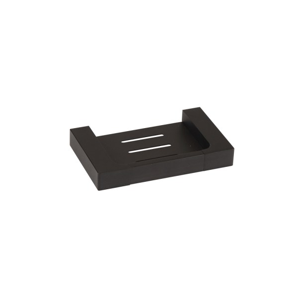 7406-Matte-Black-Soap-Holder