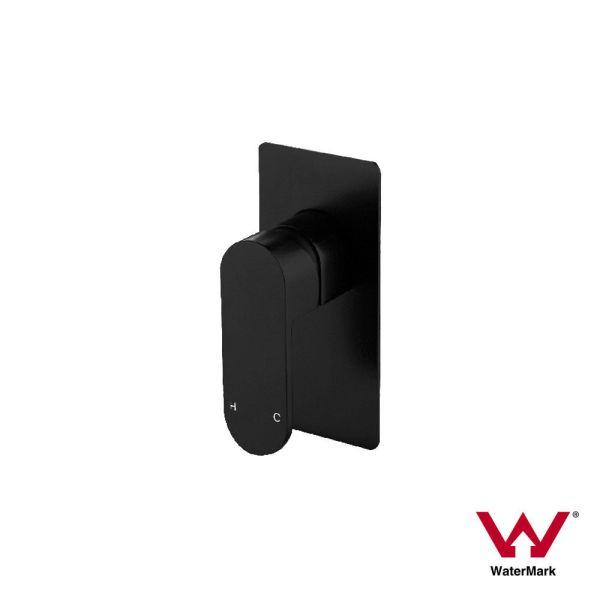 EVA-MINI-Premium-Electroplated-Round-Square-Matte-Black-Basin-Shower-Bath-Mixer-253259905121
