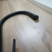 Modern-Matte-Black-Round-Cone-Lollipop-Gooseneck-Pull-Out-Swivel-Kitchen-Mixer-252951696611-8