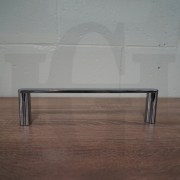NEW-Round-CHROME-300mm-Small-Hand-Towel-Holder-Rail-Bar-304-Stainless-Steel-252960294681-8