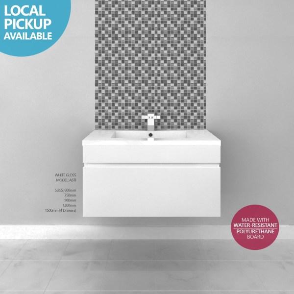 ASTI-600mm-White-Gloss-Polyurethane-Wall-Hung-Soft-Close-Bathroom-Vanity-w-Top-252550073462