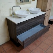 BOGETTA-1200mm-Walnut-Oak-PVC-THERMAL-FOIL-Wood-Grain-Double-Vanity-w-Stone-Top-252958578912-9