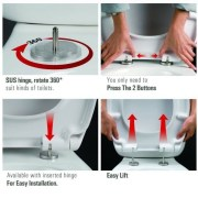 Round-D-Shape-Duraplast-Heavy-Duty-Soft-Close-Quick-Release-White-Toilet-Seat-252945971102-9