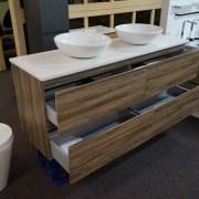 SIENA-1500mm-Walnut-Oak-PVC-THERMAL-FOIL-Timber-Wood-Grain-Vanity-w-Stone-Top-252951314753-7