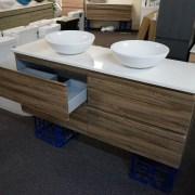 SIENA-1500mm-Walnut-Oak-PVC-THERMAL-FOIL-Timber-Wood-Grain-Vanity-w-Stone-Top-252951314753-8