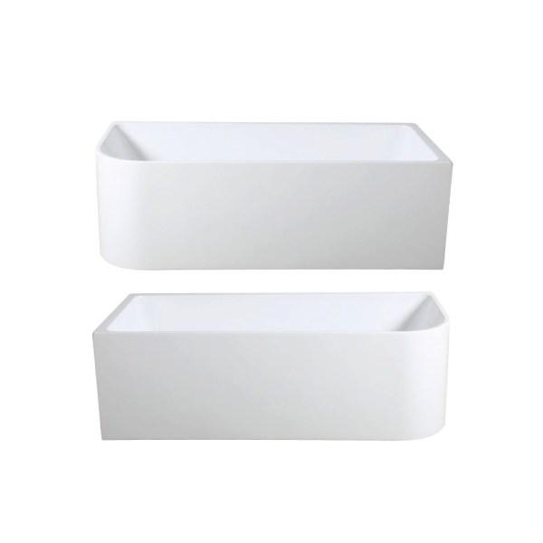 MIRANDA-1500mm-1700mm-Back-to-Wall-Corner-Freestanding-High-Grade-Acrylic-Bath-253057860874