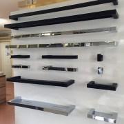 NEW-MODERN-Square-Matte-Black-Metal-TOILET-PAPER-HOLDER-Bathroom-Accessories-252510994294-8