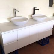 PLUSH-MATTE-BLACK-Tall-High-Rise-Bathroom-Basin-Flick-Mixer-Solid-BrassCeramic-252535978934-10
