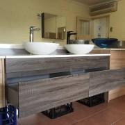 PLUSH-MATTE-BLACK-Tall-High-Rise-Bathroom-Basin-Flick-Mixer-Solid-BrassCeramic-252535978934-12