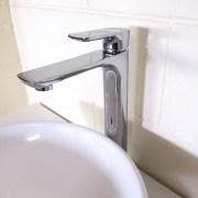 Polished-Chrome-Tall-High-Rise-Bathroom-Basin-Sink-Mixer-TapSolid-BrassCeramic-252537167434-5