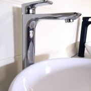 Polished-Chrome-Tall-High-Rise-Bathroom-Basin-Sink-Mixer-TapSolid-BrassCeramic-252537167434-6