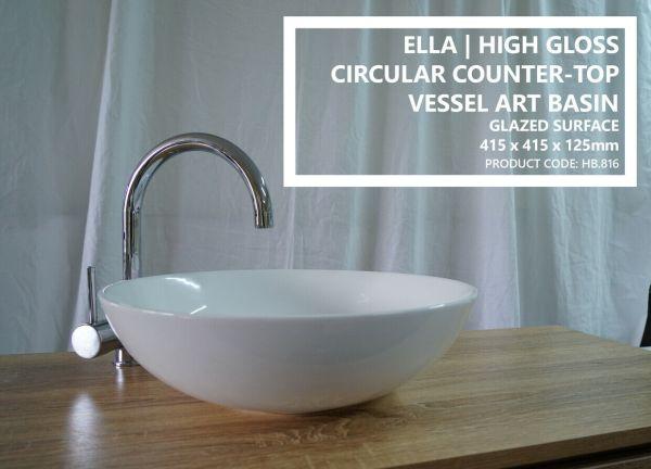 ELLA-415mm-Round-Circle-Gloss-White-Solid-Ceramic-Above-Counter-Bowl-Basin-Sink-254130558815