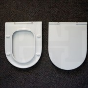Round-D-Shape-Duraplast-Top-Fixing-Soft-Close-Quick-Release-Slim-Toilet-Seat-253101614125-5