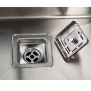 760mm-Double-Bowl-Handmade-SS-Kitchen-Sink-w-Square-Waste-Topmount-Undermount-252431442557-3