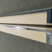 MODERN-Square-700mm-Chrome-Metal-Single-or-Double-Bathroom-Towel-RailRack-252520860917-3