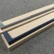 MODERN-Square-700mm-Chrome-Metal-Single-or-Double-Bathroom-Towel-RailRack-252520860917-4