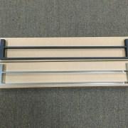 MODERN-Square-700mm-Chrome-Metal-Single-or-Double-Bathroom-Towel-RailRack-252520860917-7