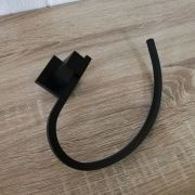 Modern-MATTE-BLACK-Brass-Square-Curved-Small-Face-or-Hand-Towel-Holder-Ring-Rail-252663915817-4