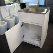 45L-Stainless-Steel-Laundry-TubSink-w-WATERRUST-PROOF-PVC-Soft-Close-Cabinet-252520533118-7