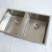 760mm-Double-Bowl-Premium-Grade-Stainless-Steel-Kitchen-Laundry-Sink-Round-Waste-253530954798-7