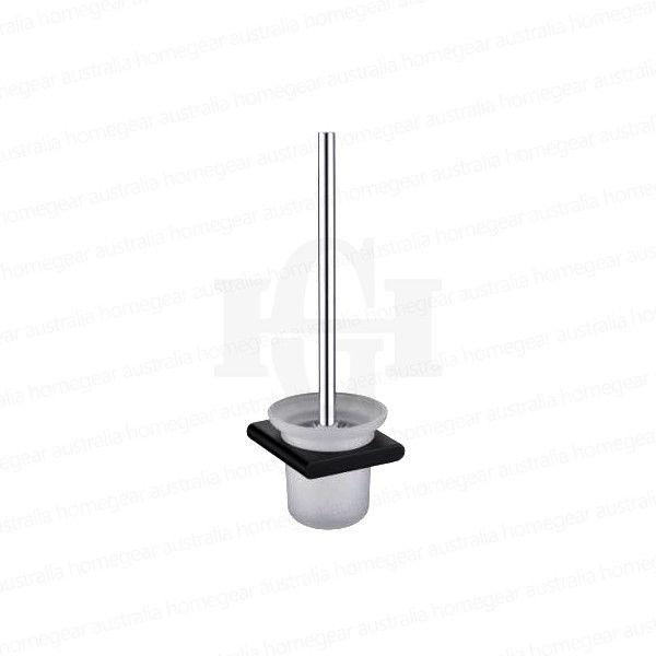 Modern-RoundSquare-Matte-Black-Wall-Mount-Glass-Toilet-Brush-Holder-Set-253417772558