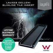 900mm-LAUXES-Cellini-Midnight-Black-Slimline-Tile-Insert-Floor-Drain-Waste-253218766609