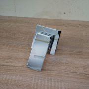 ETTORE-Small-Square-Chrome-Wall-Shower-Bath-Mixer-80mm-Ultra-Slim-Back-Plate-253336475709-5