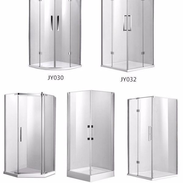 Frameless-Glass-Shower-Screen-Diamond-Square-Quadrant-1000x1000mm-Magnetic-Doors-252417578529