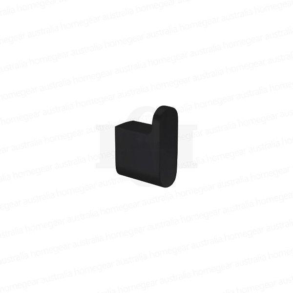 Modern-RoundOval-MATTE-BLACK-Wall-Mount-Robe-Hook-Bathroom-Accessories-253417793789