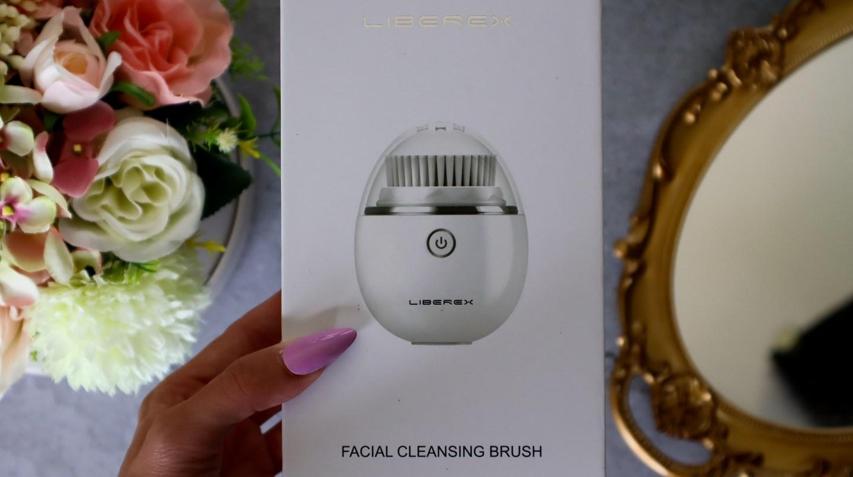 Liberex Egg Vibrating Facial Cleansing Brush packaging review