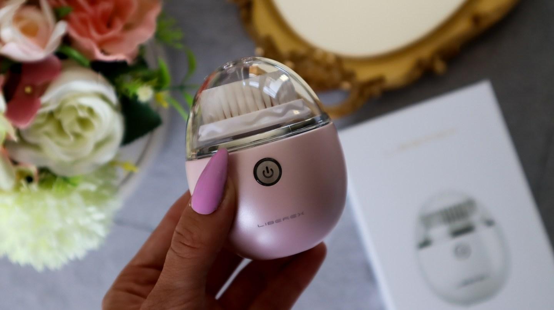 Pink Liberex Egg Vibrating Facial Cleansing Brush review