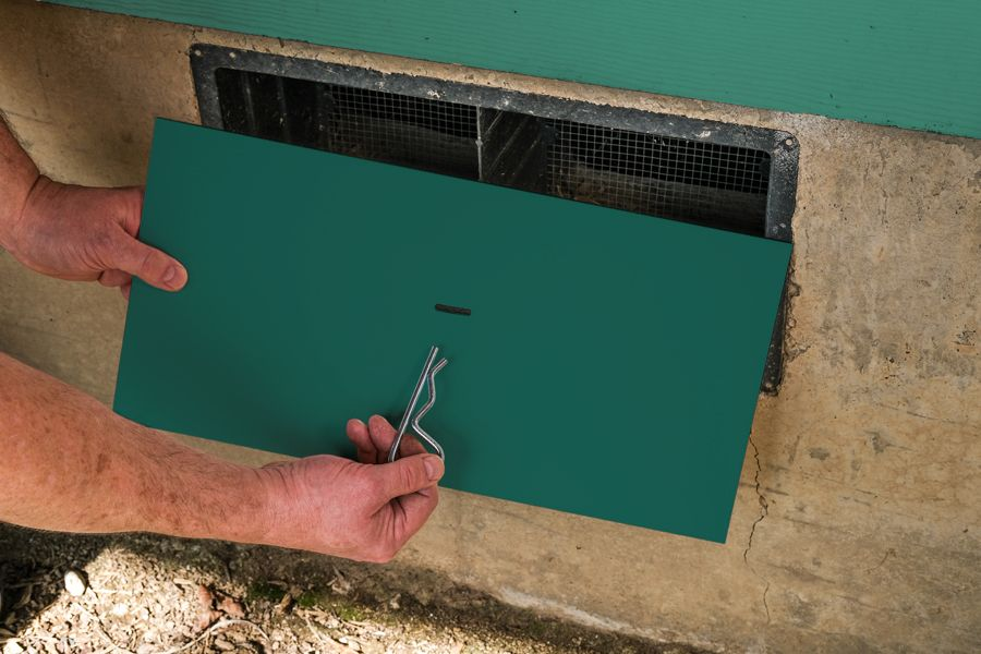 Vanity Vent Crawl Space Vent Cover Green