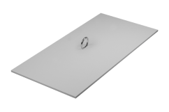 Grey Vanity Vent Crawl Space Vent Cover
