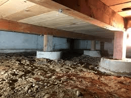Crawl Space Under a Home