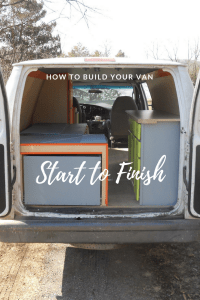 VanLife Van Build