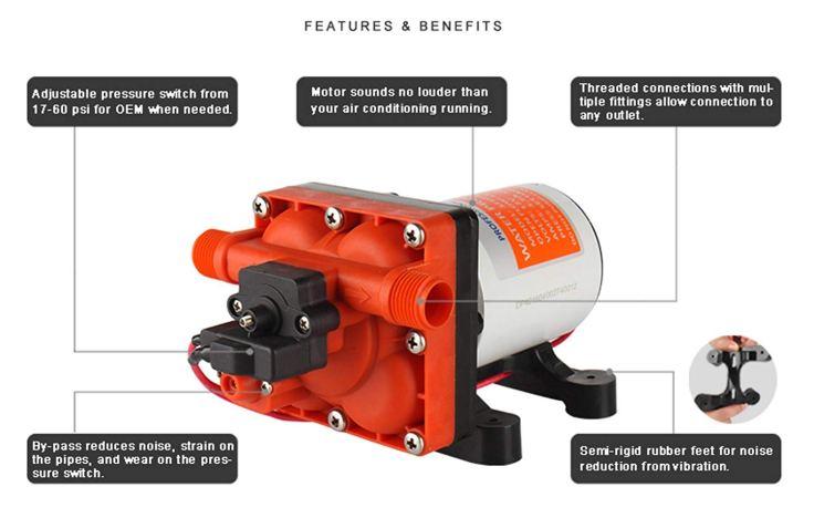 Seaflo water pump