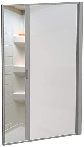 Nautilus Sliding RV Shower Door Sprinter shower door #sprinterconversionvan #vanlife #vanliving