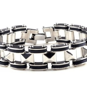 heren rvs armband ( 21.5 cm )
