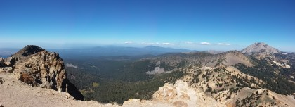Stunning views from the top of Brokeoff. FAITH MECKLEY