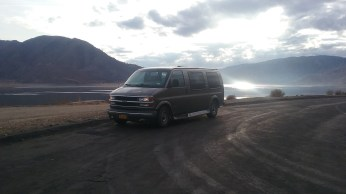 A road pull-off of Sierra Way overlooking the picturesque Isabella Lake. FAITH MECKLEY