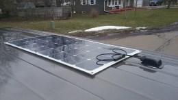 Flexible 100 watt solar panel