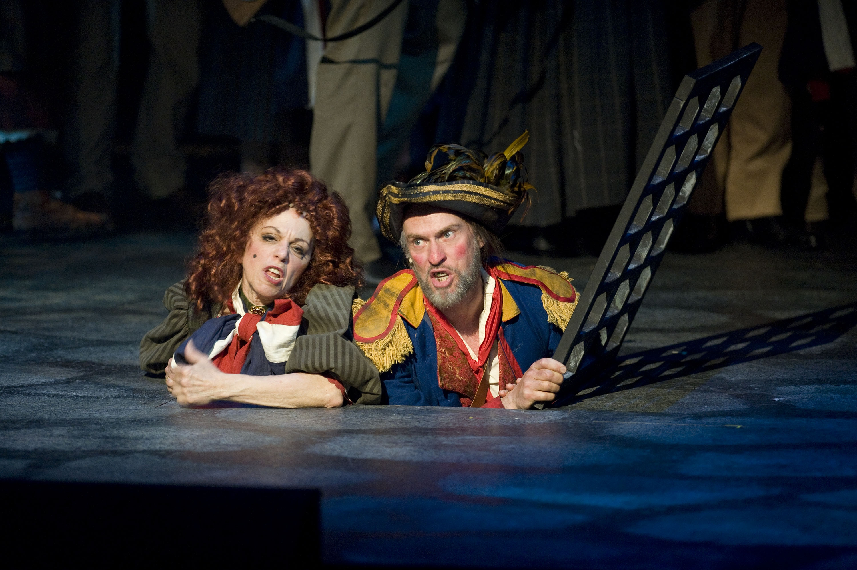 Nicola Lipman and John Mann in the Arts Club Theatre Company's production of  Les Misérables. Photo by Emily Cooper.