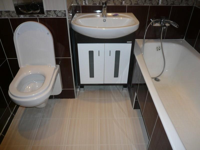 ванная совмещенная с туалетом дизайн 7