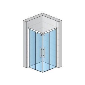 Kvadrātveida dušas
