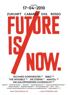 FUTURE IS NOW.