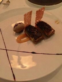 "Singaporean-inspired ""Kaya Toast"" with foie gras"