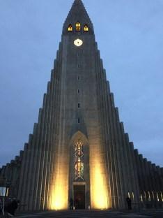 Hallgrimskirkja (aka the big church that I can't pronounce)