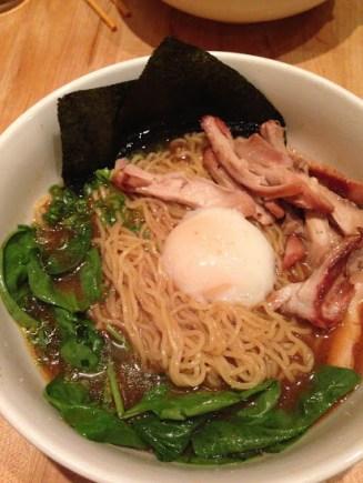 Momofuku Chicken Miso Ramen