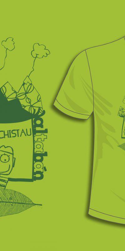 ilustracion-camisetas-camiseta chistau